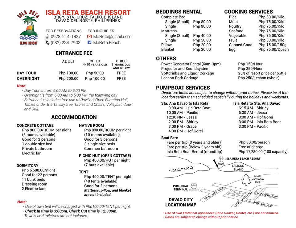 Mountain Beach Resort Contact Number