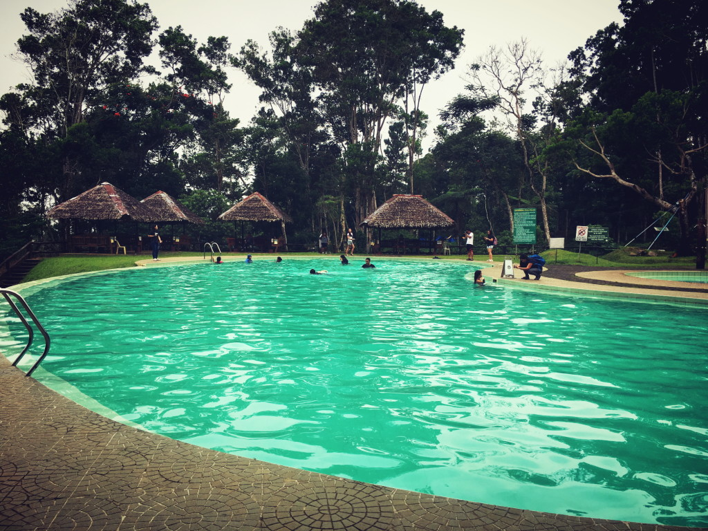 swimming pool at eden nature park